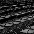 Chair Pattern Empty Seats by Jim Corwin