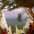 Chalk Cliffs On Rugen  by PixBreak Art