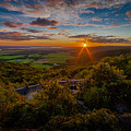 Champlain Lookout by Roger Monahan