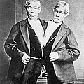 Chang And Eng, Siamese Twins by Wellcome Images