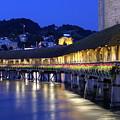 Chapel Bridge Or Kapellbrucke, Lucerne, Switzerland by Elenarts - Elena Duvernay photo