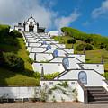 Chapel In Azores Islands by Gaspar Avila