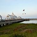 Charleston Waterfront Park During Sunset by Jeramey Lende