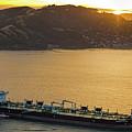 Chevron Pegasus Voyager Oil Tanker by David Oppenheimer