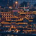Chongqing Hongyadong Shopping Complex by Songquan Deng
