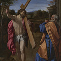 Christ Appearing To Saint Peter On The Appian Way by PixBreak Art