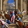 Christ Driving The Money Changers From The Temple by El Greco