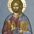 Christ Pantokrator by Julia Bridget Hayes