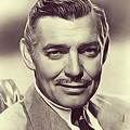 Clark Gable, Vintage Actor by John Springfield