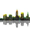 Cleveland Ohio Skyline by Marlene Watson