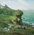 Cliffs Of Greville by Jean-Francois Millet