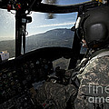 Co-pilot Flying A Ch-47 Chinook by Terry Moore