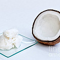 Coconut Oil And Coconut by Inga Spence