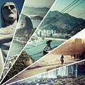Collage Of Rio De Janeiro  by Mariusz Prusaczyk