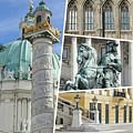 Collage Of Vienna by Mariusz Prusaczyk
