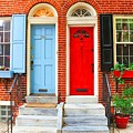 Colonial Doors by Andrew Dinh