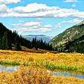 Colorado Mountain Lake In Fall by Amy McDaniel