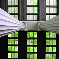 2 Column Stain Green by Jost Houk