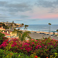 Corona Del Mar At Dusk by Eddie Yerkish