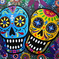 Couple Day Of The Dead by Pristine Cartera Turkus