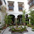 Courtyard In Juderia, Cordoba by Aivar Mikko