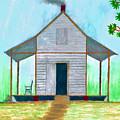 Cracker Cabin Drawing by D Hackett