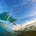 Crashing Wave Tube by MakenaStockMedia - Printscapes
