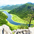 Crnojevic River, Montenegro by Ruth Hofshi