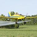 Crop Dusting Plane by Lori Tordsen