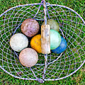 Croquet Balls by Tom Gowanlock