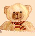 Cuddly Bear by Angeles M Pomata