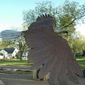 Custer Park, Bismarck, Nd, Usa - Bicentennial Of The Constitution by Wayne Pruse