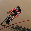Cycle Racing On The Curve by Douglas Sacha