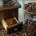 Daily Grind Coffee Beans by F Helm