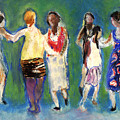 Dancers by Bill Collins