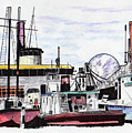 Docks by Keith Spence