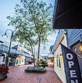 Downtown Of Newport Rhode Island At Dusk Hours by Alex Grichenko