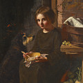 Early Breakfast by James Sant