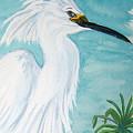 Egret by Nancy Rucker