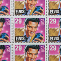 Elvis Commemorative Stamp January 8th 1993 Painted  by Rich Franco