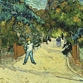 Entrance To The Public Gardens In Arle by Vincent van Gogh