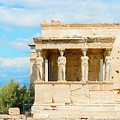 Erechtheion Temple On Acropolis Hill, Athens Greece. by Marek Poplawski