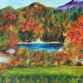 Fall In The Adirondacks by Lucille  Valentino