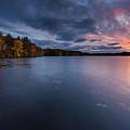 Fall Sunset by Bryan Bzdula