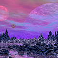 Fantasy Landscape by Elenarts - Elena Duvernay Digital Art