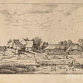 Farms by Johannes Van Doetechum, The Elder And Lucas Van Doetechum After Master Of The Small Landscapes