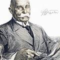 Ferdinand Von Zeppelin by Granger