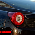 Ferrari Tail Light by Dean Ferreira