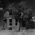 Film Homage Anthony Perkins Janet Leigh Alfred Hitchcock Psycho 1960 Vacant House Black Hills Sd '65 by David Lee Guss
