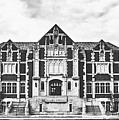 Fine Arts Building - Ball State University by Library Of Congress